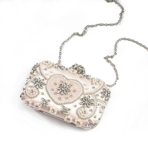 Image of Luxury Crystal Evening Bag