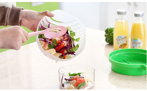 Image of 60 Second Salad Cutter Bowl