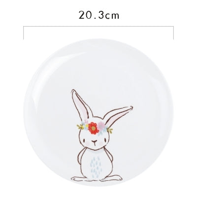 """Rabbit"" Ceramic Plates"