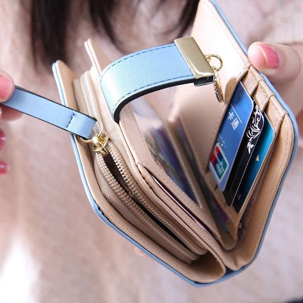 "Small Female Wallet ""Inspiration"""