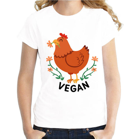 """Vegan Life"" Female T-Shirt"