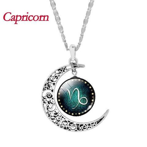 "Image of Glass Necklace ""Zodiac"""