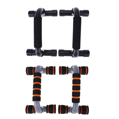 Image of H-Shape Fitness Push-Up Rack