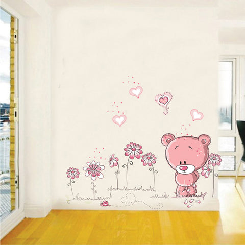"Image of ""Teddy Bear"" Wall Stickers"