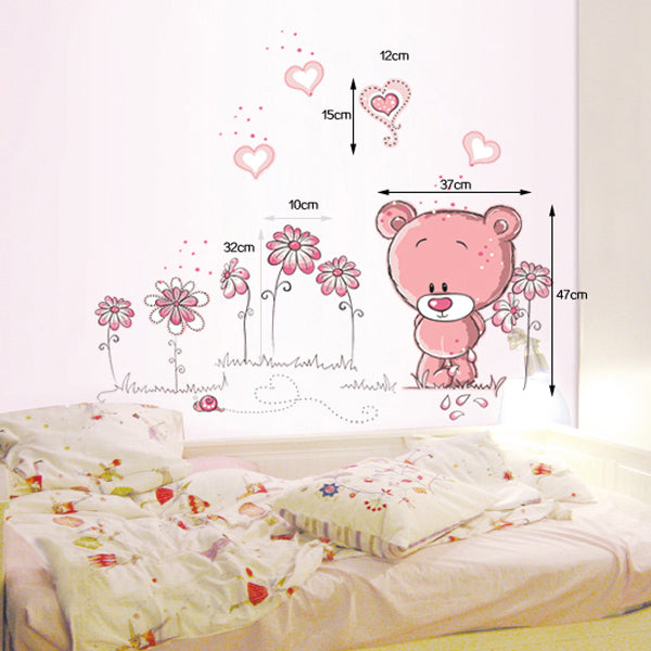 """Teddy Bear"" Wall Stickers"