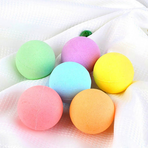"Image of ""Organic Care"" Bath Salt Bombs, 6pcs"
