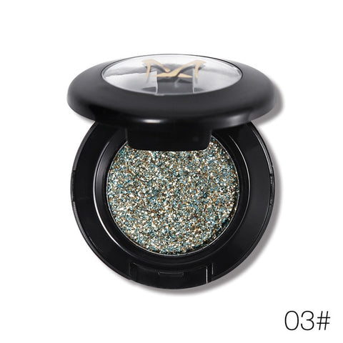 Image of Women Diamond Glitter Eyeshadow Palette