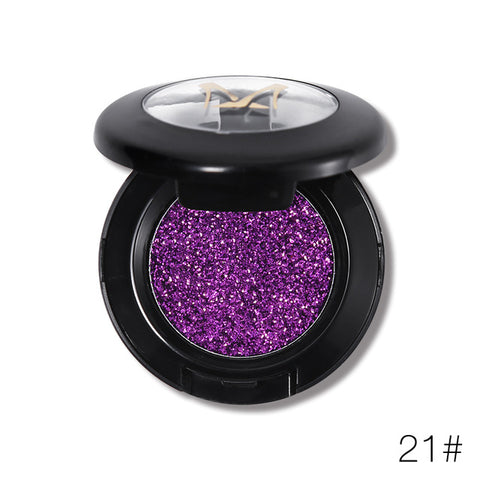 Women Diamond Glitter Eyeshadow Palette
