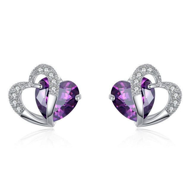 The Romantica Heart Earrings