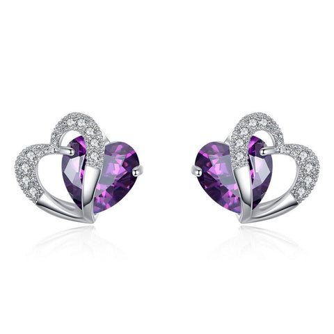 Image of The Romantica Heart Earrings