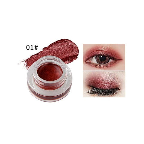 Natural 15 Colors Single Eyeshadow Cream