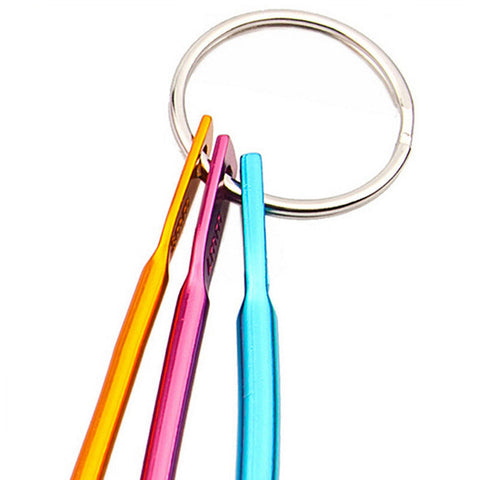 Image of Crochet Needles Hooks in Colorful Aluminum - 3PCs/set