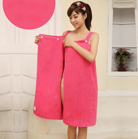 "Image of ""Wear Me"" Bath & Beach Towel"