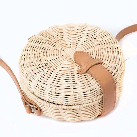"Image of ""Lucy"" Summer Straw Bag for Women"