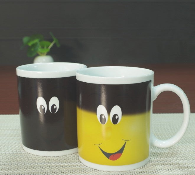 "Colour Changing Coffee Mug ""Smiley"""
