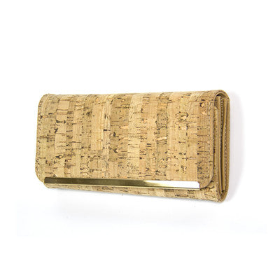 """Made of Cork"" Female Wallet"