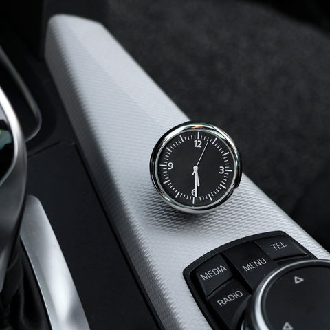Image of Car Automobile Digital Clock Auto Watch Thermometer