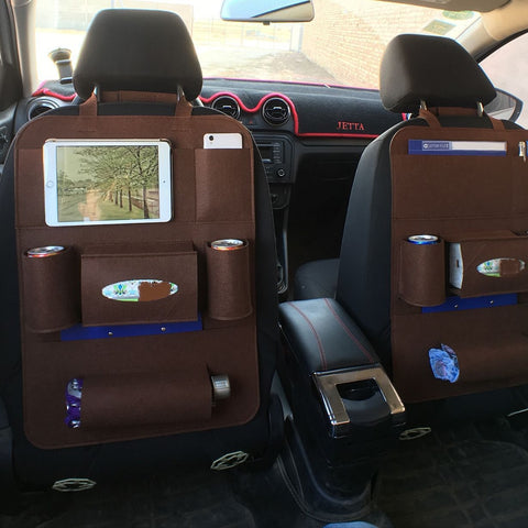The Brilliant Backseat Organizer