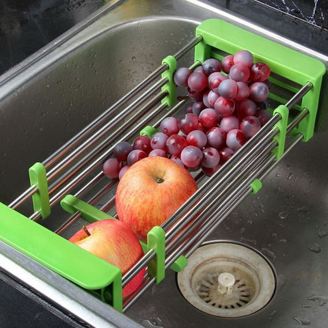 Kitchen Telescopic Drainer Rac