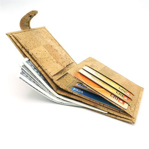 """Made of Cork"" Wallet for Men"