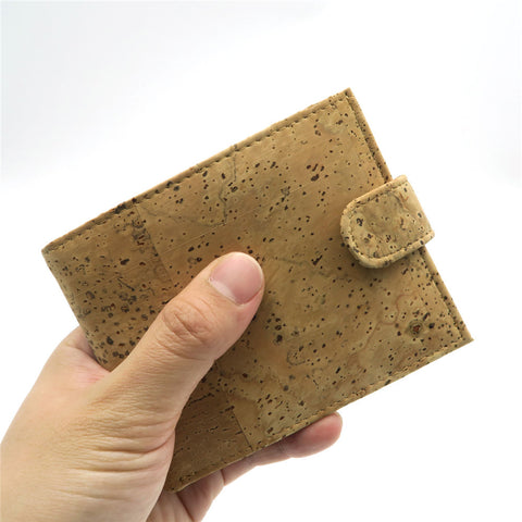 "Image of ""Made of Cork"" Wallet for Men"