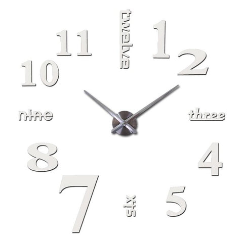 Image of Wonderful Quartz Wall Clock - Put Some Style In Your Living Room
