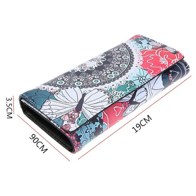"""Gloria"" Women Retro Wallet/Clutch"
