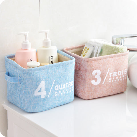 "Image of Storage Basket for Kitchen/Bathroom/Kids´ Room  ""Vintage"""