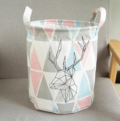 "Laundry Basket for Storage ""LaLaLa Love"""