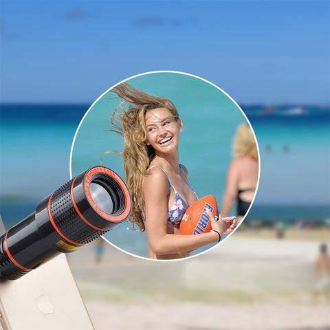 ZOOMTASTIC Camera Lens for iPhone / Samsung / Any Smartphone