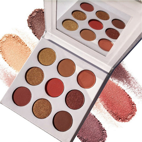 Women Natural Shimmer Matte Eyeshadow