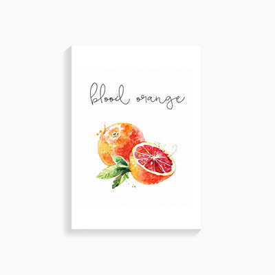 Fruits And Vegetables Canvas Posters