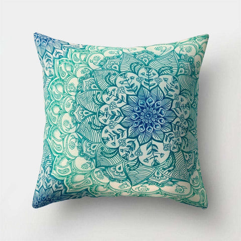 Image of Mandala Pattern Pillow Cushion Cover