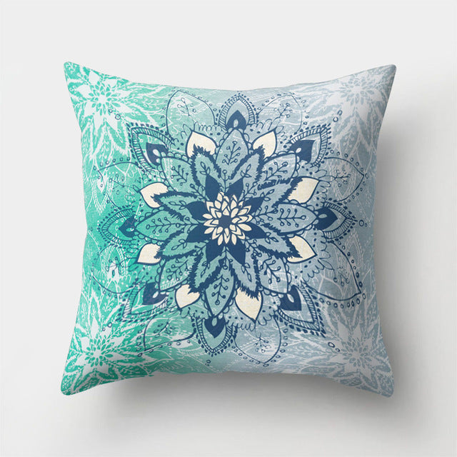 Mandala Pattern Pillow Cushion Cover