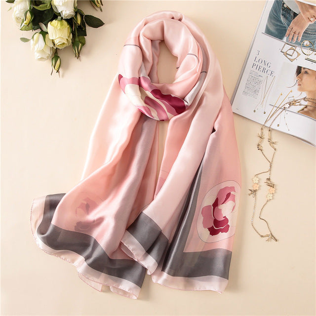 """Gloria"" Summer Scarves for Women"