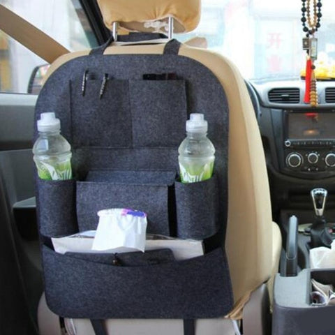 Image of Multi-color Auto Car Seat Back Bag Blanket