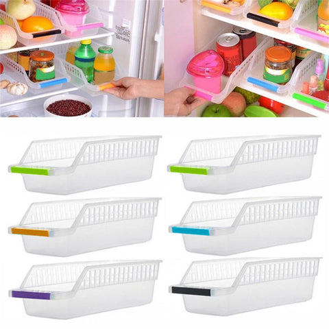 Image of New Creative Kitchen Slide Shelf Rack