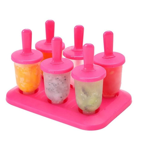 Freezer Ice Pop Maker Mold