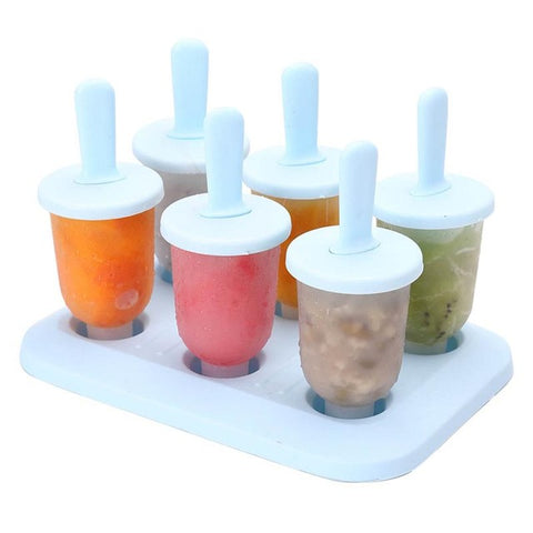 Image of Freezer Ice Pop Maker Mold