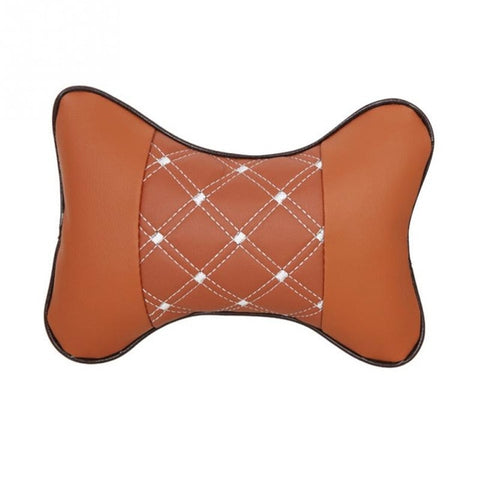 Image of Car Headrest Breathe Seat Head Neck Rest Cushion