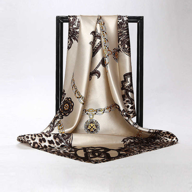 Luxury Leopard Scarf