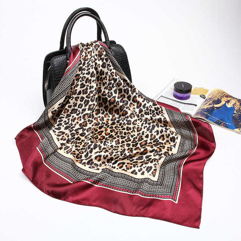 Image of Luxury Leopard Scarf