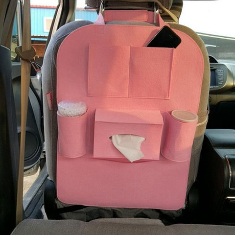 Multi-color Auto Car Seat Back Bag Blanket