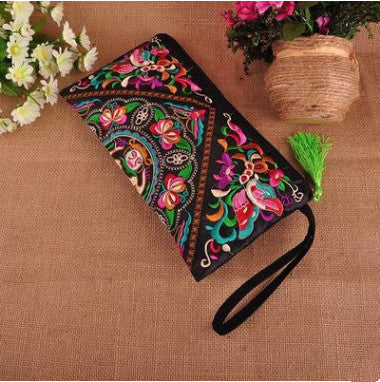 Embroidered Women Handbags