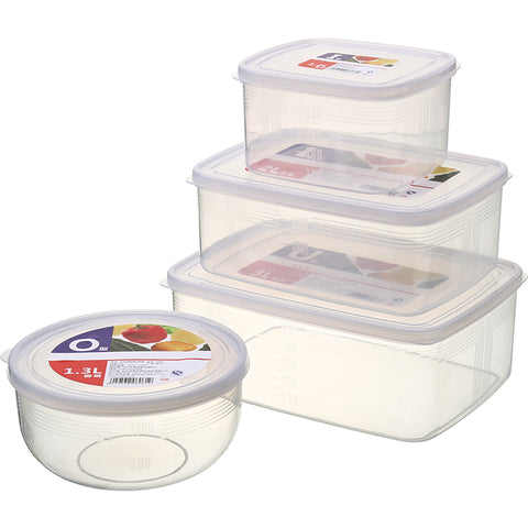 Image of Transparent Plastic Fresh Box