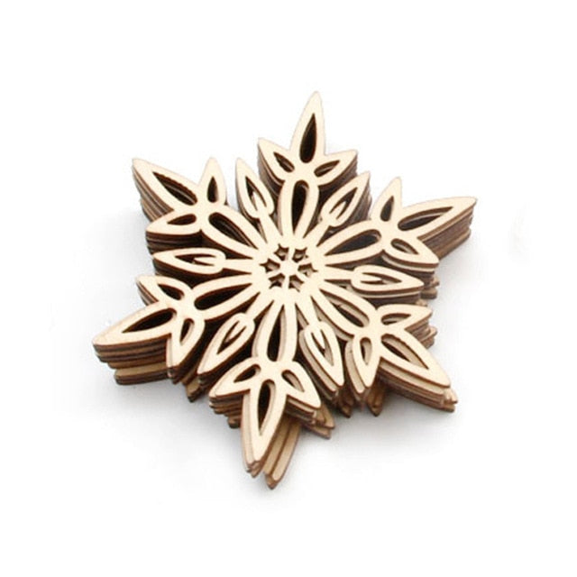 Christmas Tree Hanging Snowflake