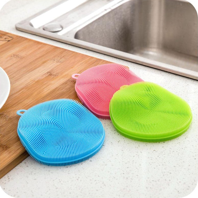 Silicone Cleaning Brushes