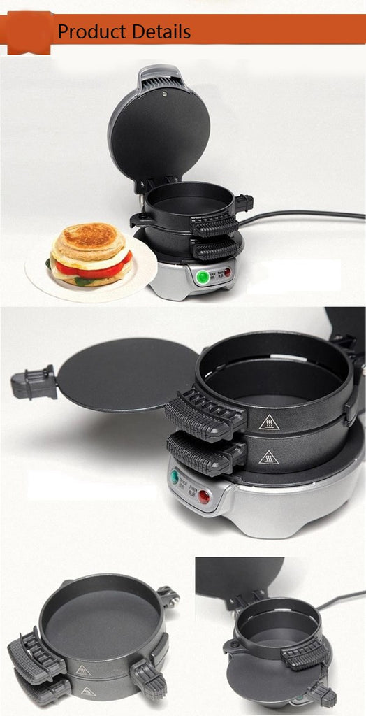 Nonstick Breakfast Sandwich Maker Machine