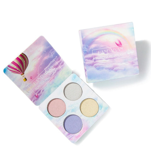 Women Bright Light Eye Shadow Palette