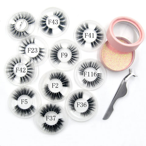3D Natural Long Invisible Thin Band Stage Lashes